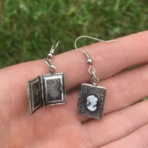 Cameo Picture Frame Earrings